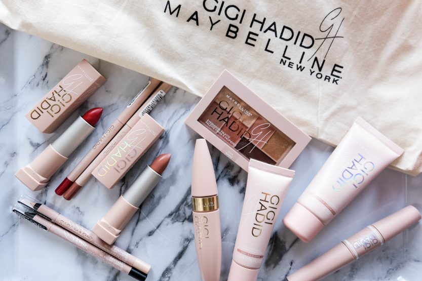 GIGI HADID X MAYBELLINE MAKEUP COLLECTION
