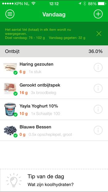 virtuagym-food-vetten