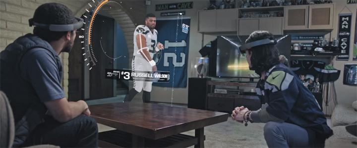 Microsoft Hololens Superbowl