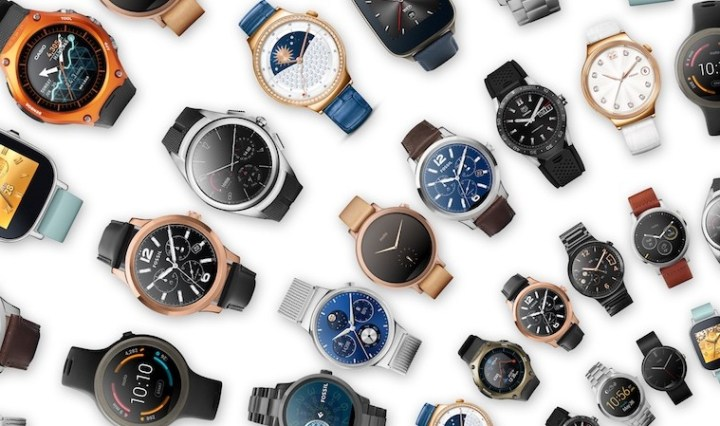Android Wear horloges