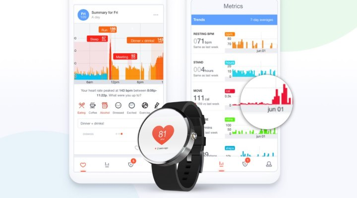 Cardiogram Android Wear