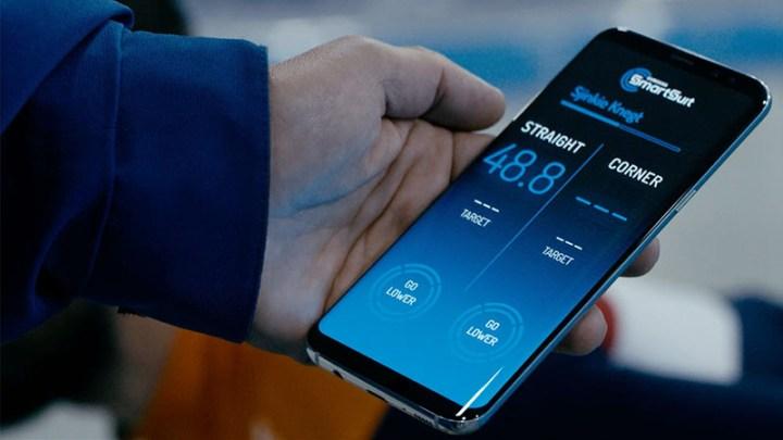 Samsung SmartSuit coach-app