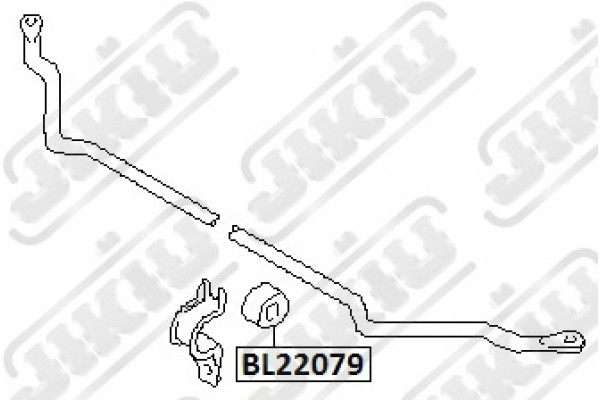 STABILIZER BUSH NISSAN 54613-2S600