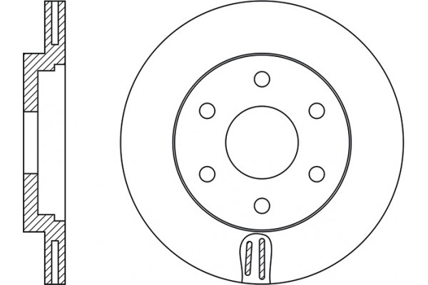 ROTOR DISC NISSAN 402061LB0A