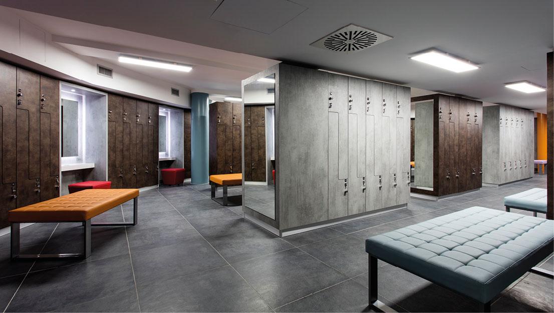 Fit Interiors arredamento palestre spa piscine hotel ospedali scuole
