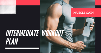 Intermediate Workout plan | Fitkill