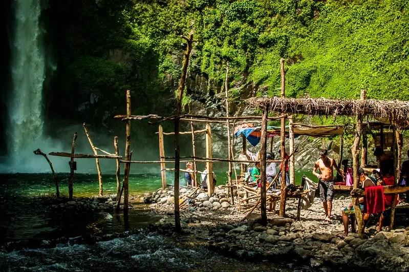 waterfall batad hike