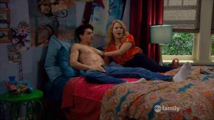 Kevin Fonteyne shirtless melissa & joey