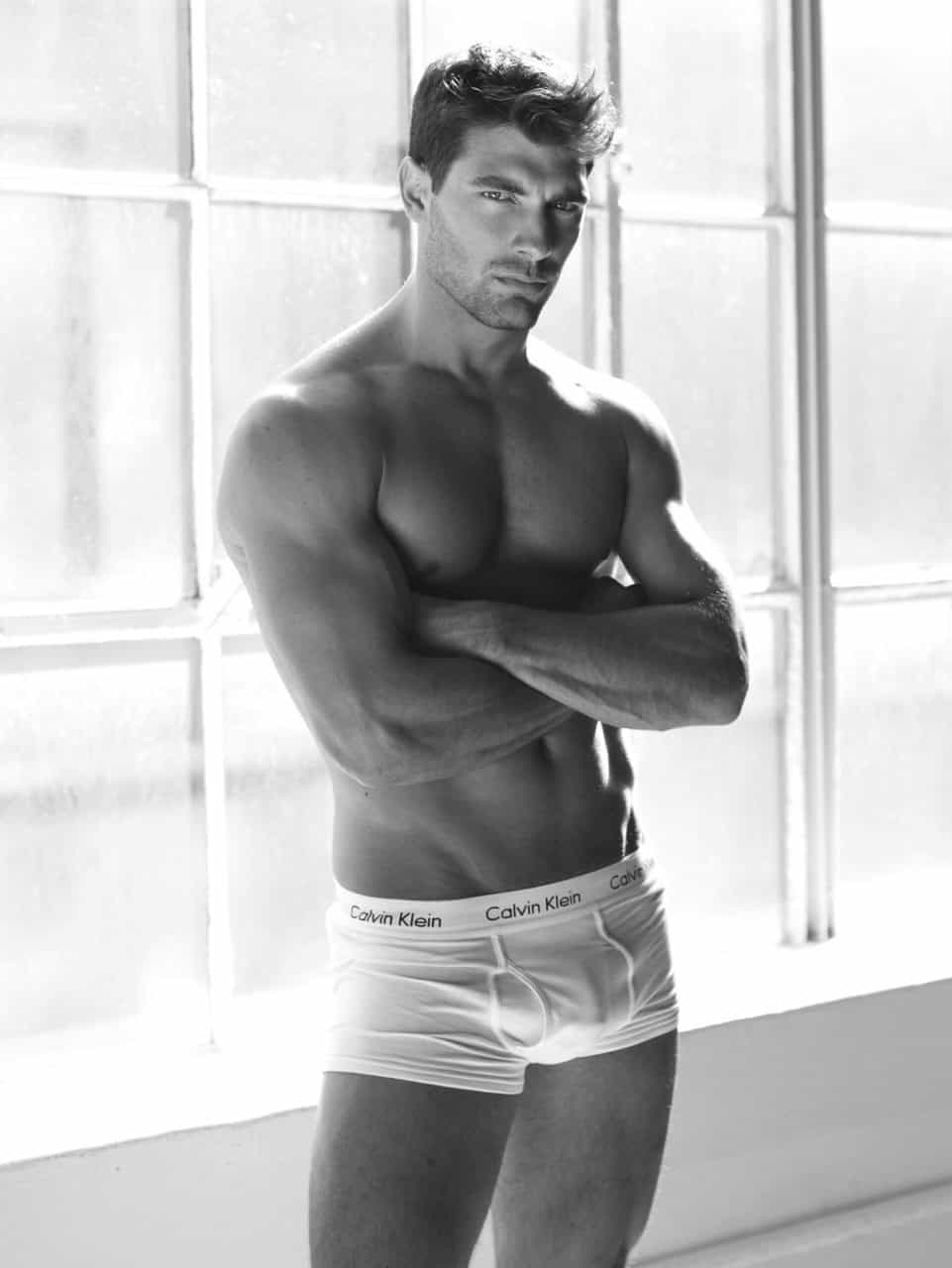Calvin Klein Underwear Model  Fit Males Shirtless  Naked-4267