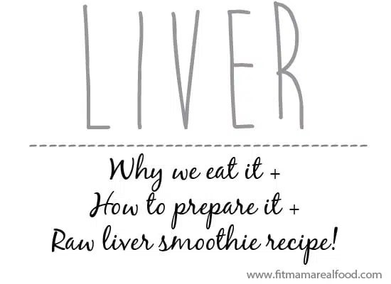 raw liver: why I added it into my diet along with a raw