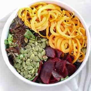 Sweet Potato Beet Salad [Fit Mitten Kitchen]