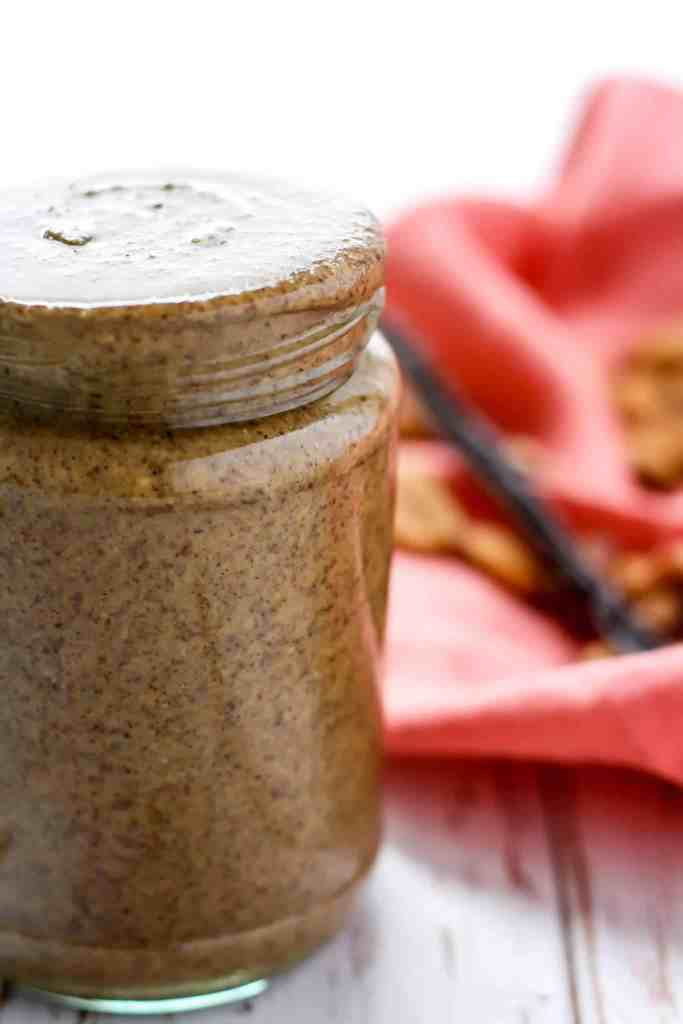 All you need is a food processor and four ingredients to make the most creamy, decadent homemade Vanilla Bean Almond Pecan Butter. Sugar-free, vegan, and paleo-friendly!