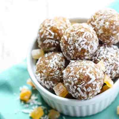 Tropical Coconut Energy Balls