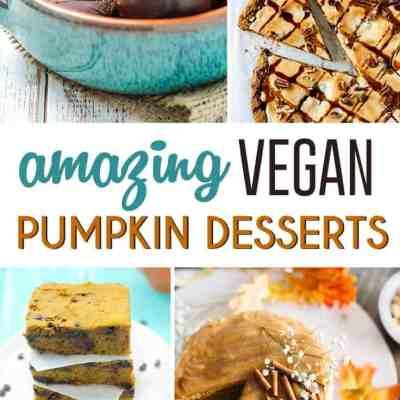 12 Amazing Vegan Pumpkin Desserts