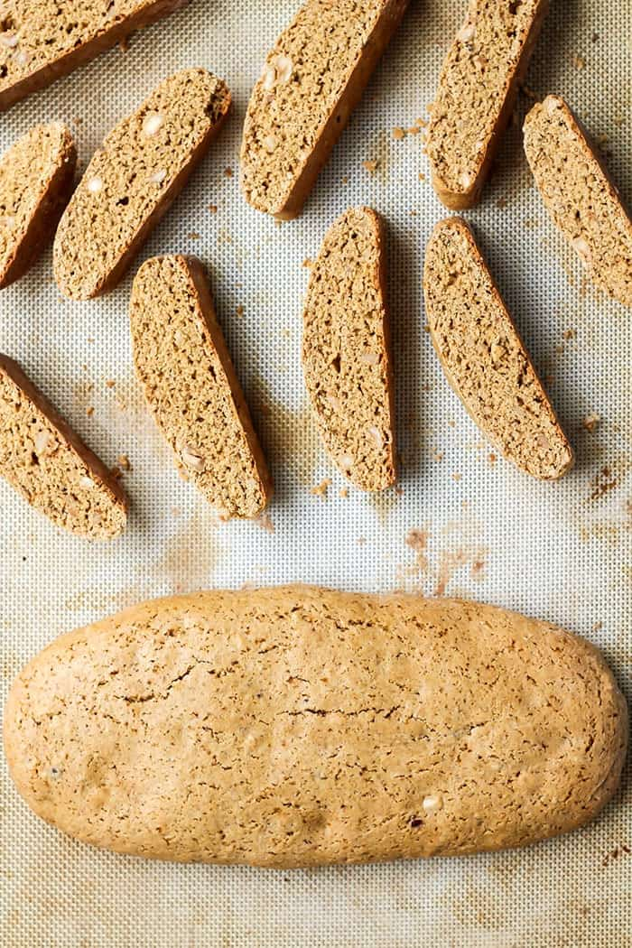 Homemade biscotti recipe! Easier than it looks!