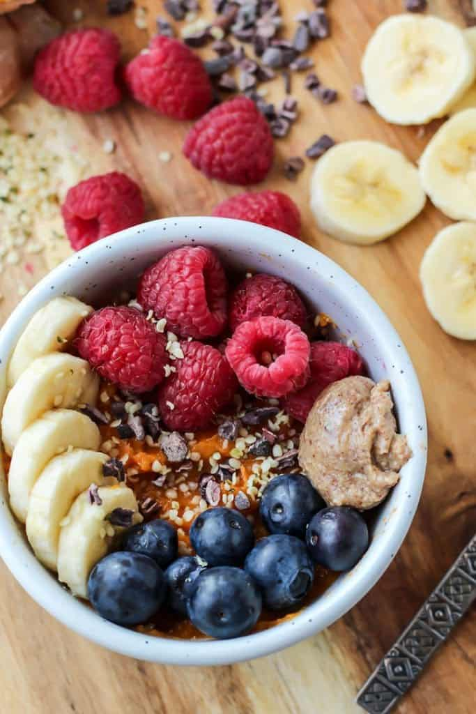 Sweet Potato Protein Breakfast Bowl