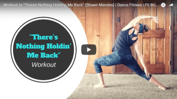 theres nothing holding me back shawn mendes zumba dance fitness cardio workout video fit body beats