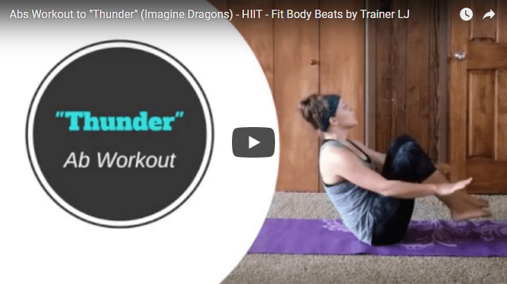 thunder hiit ab workout fit body beats trainer lj