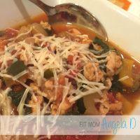 Rustic Turkey & Veggie Soup