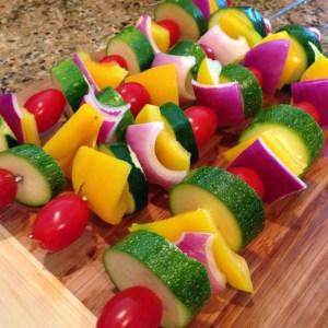 Veggie K-Bobs