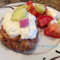Tasty Greek Turkey Burgers