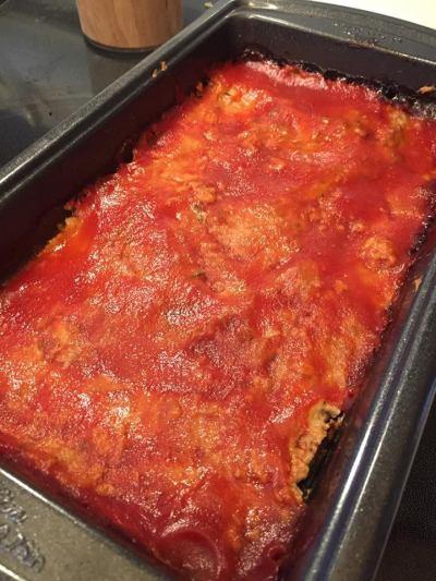 Zucchini Turkey Meatloaf