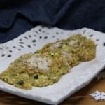 Tegole di zucchine e riso