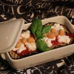 Parmigiana di legumi e melanzane