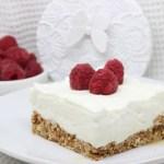 Cheesecake cocco e lamponi