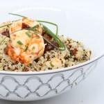 Quinoa e code di gambero
