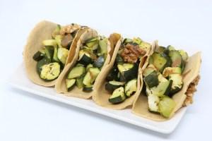 Veggie tacos alle zucchine