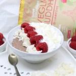 Porridge al lampone e cocco