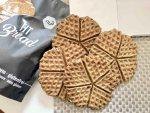 Waffle croccanti proteici