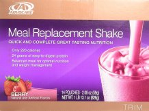 Adocare meal replacement shake