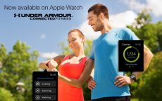 Apple watch promo for myfitnesspal