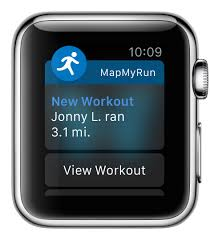 myfitnesspal for apple watch