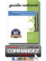 sante naturelle pdf mini - Guide SANTE AU NATUREL pour 126 PROBLEMES DE SANTE !