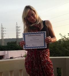 Pernille Caroline Lotus - Yoga-udfordring 1