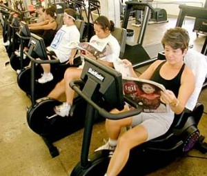 Reading-and-Biking