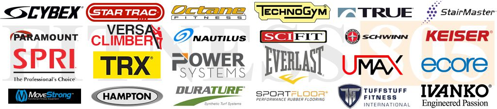 Manufacturers provided by Fitness 805