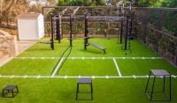Outdoor Gym Design in Santa Barbara & Surrounding Areas