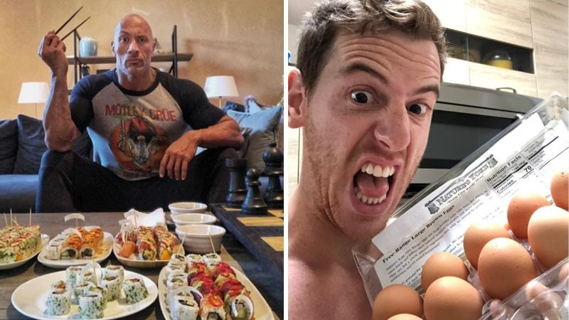 A Man Spent a Day Attempting to Eat Like a Vegetarian Model of The Rock, Says It is was Too Tense