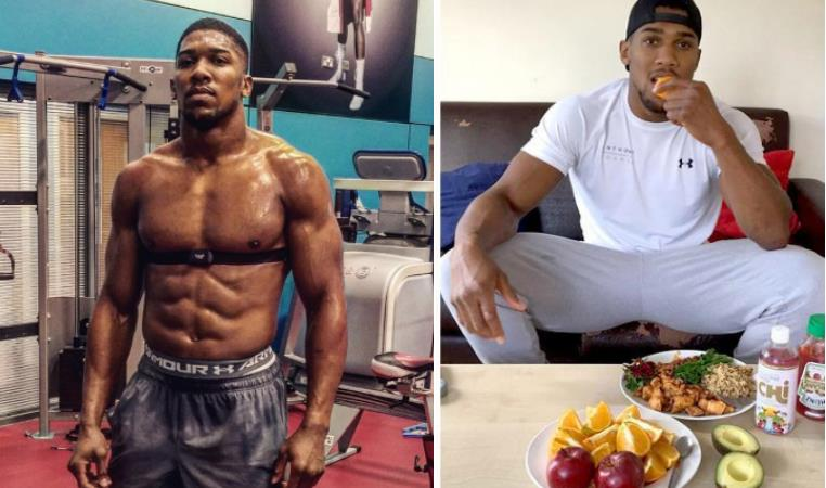 The carb that Anthony Joshua swears by in relation to efficiency