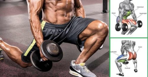 High 5 Dumbbell Leg Workout routines