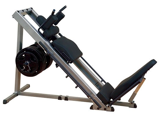 GLPH1100 Leg Press & Hack Squat Machine by Body Solid
