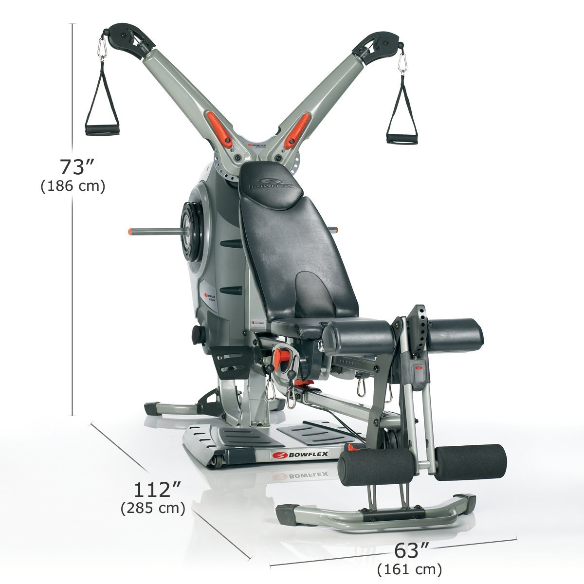 Bowflex revolution dimensions