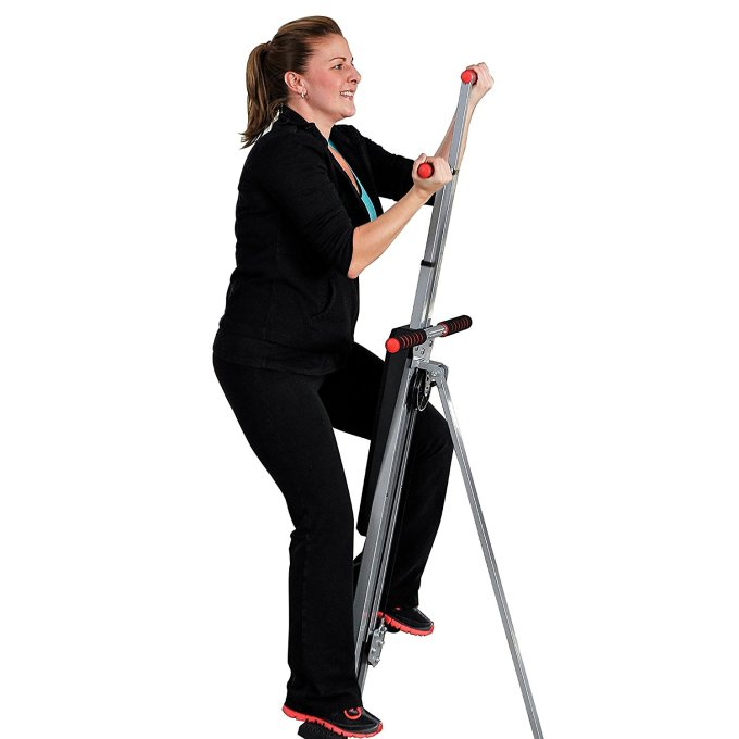 Mountain climber workout machine