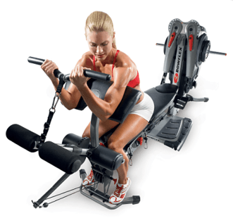 bowflex home gym exercise