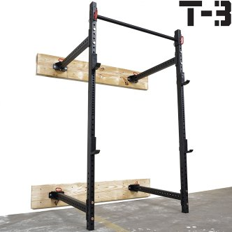 T-3 wall mounted squat rack