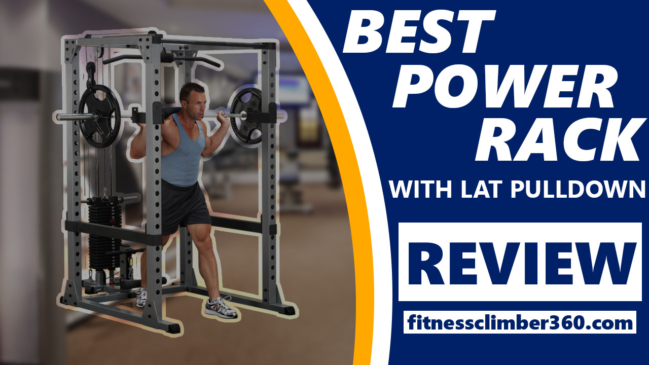 best power squat rack with lat pulldown